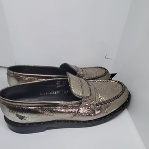 Ash Pewter loafers with stud design 8.5